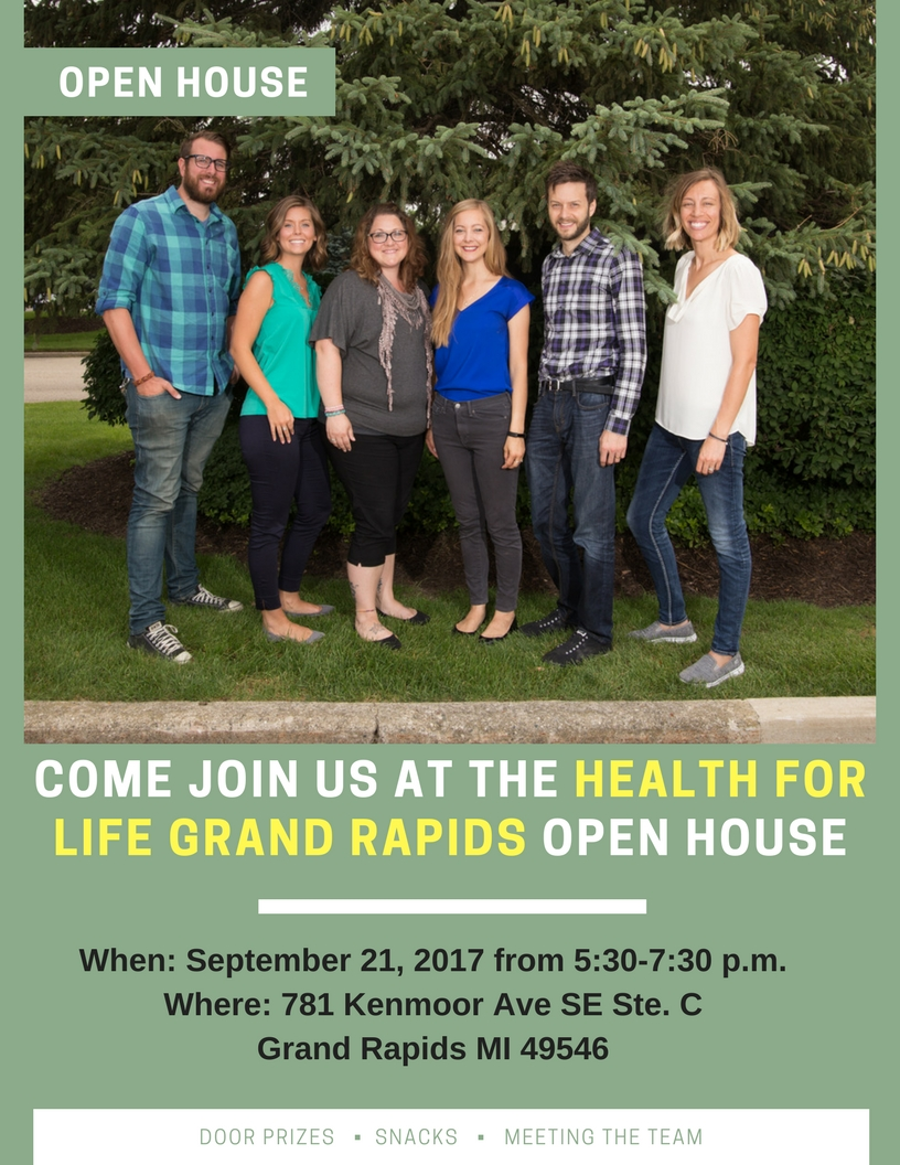 grand rapids health for life open house
