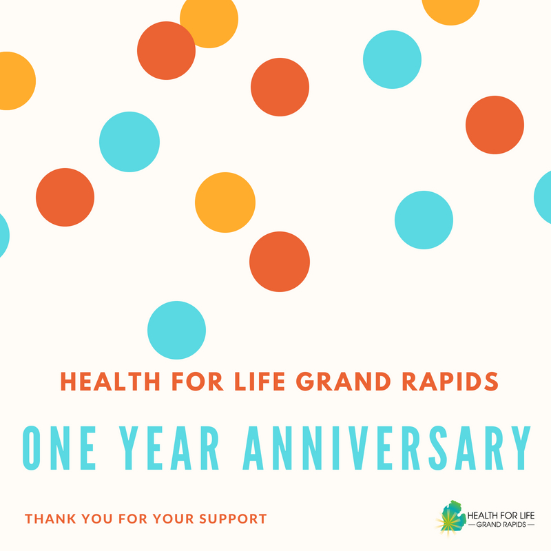 health for life grand rapids one year birthday